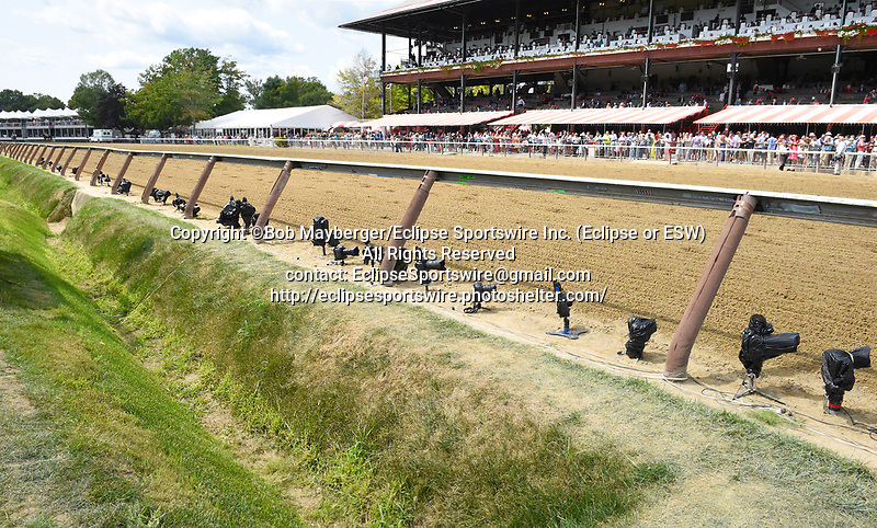 Scenes from around the track on Travers Day on August 26, 2017 at Saratoga Race Course in Saratoga Springs, New York. (Bob Mayberger/Eclipse Sportswire)