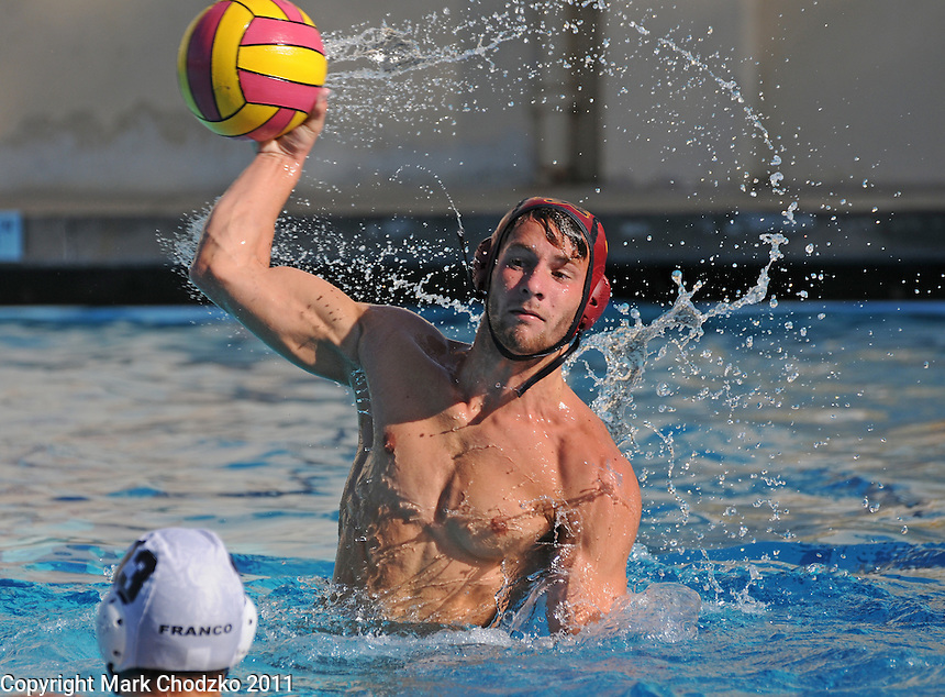 Waterpolo action photography between La Serna High School and Arcadia High School