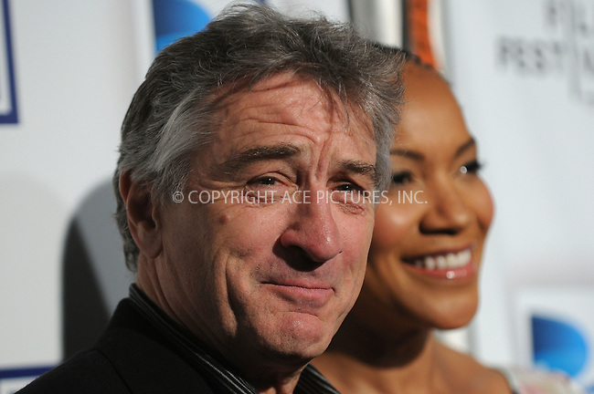 WWW.ACEPIXS.COM . . . . . ....April 22 2009, New York City....Robert De Niro and Grace Hightower arriving at the premiere of 'Whatever Works' during the 2009 Tribeca Film Festival at Ziegfeld on April 22, 2009 in New York City.....Please byline: KRISTIN CALLAHAN - ACEPIXS.COM.. . . . . . ..Ace Pictures, Inc:  ..tel: (212) 243 8787 or (646) 769 0430..e-mail: info@acepixs.com..web: http://www.acepixs.com
