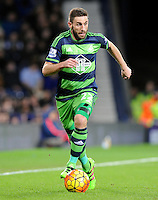 Angel Rangel of Swansea City during the Barclays Premier League match between West Bromwich Albion and Swansea City at The Hawthorns on the 2nd of February 2016