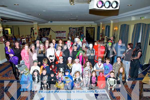 PARTY: Tralee Parnell's Hurling Club held a Halloween Fancy Dress Party in the Centreal Hotel, Tralee on Thursday night for its members and their family's.