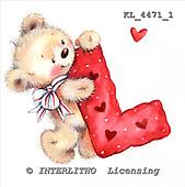 Interlitho, VALENTINE, VALENTIN, paintings+++++,KL4471/1,#v# stickers ,everyday