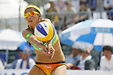 Takemi Nishibori, MAY 6, 2012 - Beach Volleyball : JBV Tour 2012 Sports Club NAS Open  Women's final at Odaiba Beach, Tokyo, Japan. (Photo by Yusuke Nakanishi/AFLO SPORT) [1090]