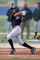 March 29, 2010:  Raul Barron (43) of the Toronto Blue Jays organization during Spring Training at the Englebert Minor League Complex in Dunedin, FL.  Photo By Mike Janes/Four Seam Images