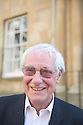 Barry Norman critic, journalist  and writer  at The Oxford Literary Festival at Christchurch College Oxford  . Credit Geraint Lewis