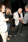 June 20th 2012 ..Kirk Douglas & friends dine at Madeo in West Hollywood..AbilityFilms@yahoo.com.805-427-3519.www.AbilityFilms.com....