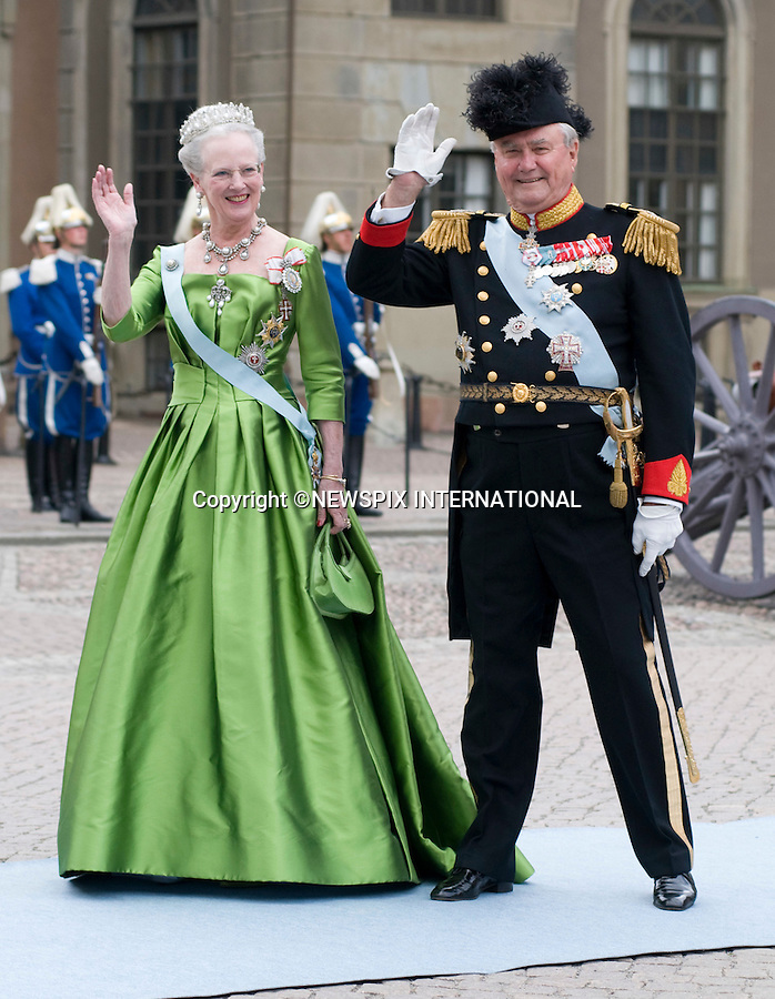 "PRINCESS VICTORIA AND DANIEL WESTLING WEDDING.Royal Guests at the wedding  Stockholm_19/062010.Mandatory Credit Photo: ©DIAS-NEWSPIX INTERNATIONAL..**ALL FEES PAYABLE TO: ""NEWSPIX INTERNATIONAL""**..IMMEDIATE CONFIRMATION OF USAGE REQUIRED:.Newspix International, 31 Chinnery Hill, Bishop's Stortford, ENGLAND CM23 3PS.Tel:+441279 324672  ; Fax: +441279656877.Mobile:  07775681153.e-mail: info@newspixinternational.co.uk"