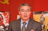 His Excellency Comrade Hyon Hak Bong DPRK - October Revolution Celebrations Southall LDN 2013 Saklatvala Hall