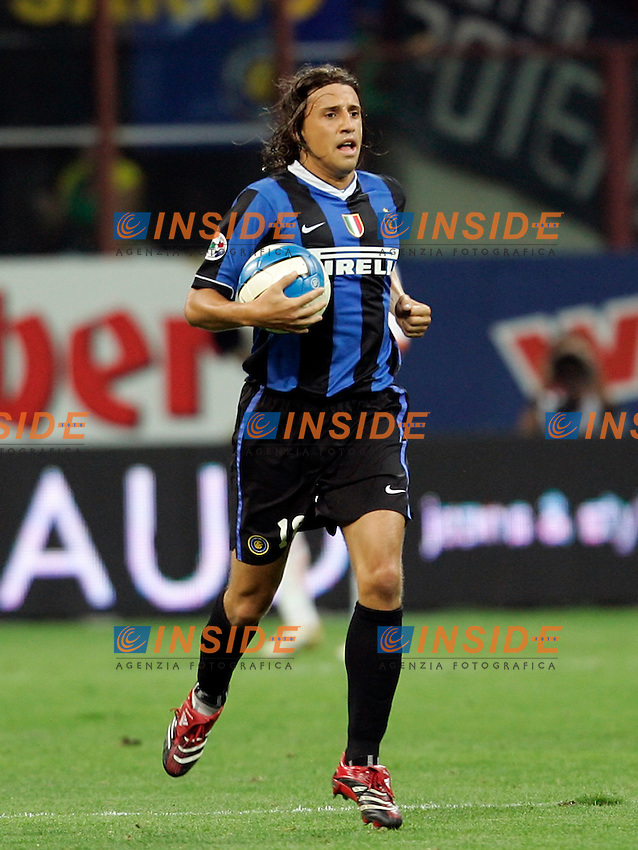Milano 26/8/2006 Supercoppa Italiana Inter Roma 4-3<br /> Photo Andrea Staccioli INSIDE<br /> Hernan CRESPO Inter