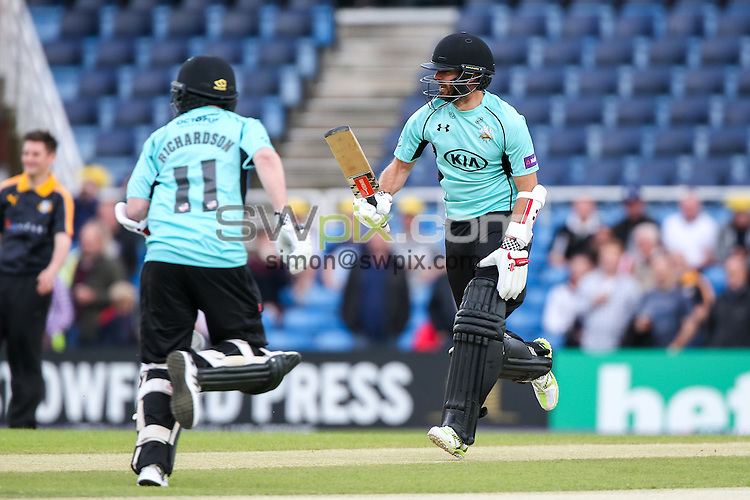 Picture by Alex Whitehead/SWpix.com - 05/06/2015 - Cricket - NatWest T20 Blast - Yorkshire Vikings v Lancashire Lightning - Headingley Cricket Ground, Leeds, England - A League Of Their Own, Jamie Redknapp.