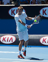 ALEKSANDR NEDOVYESOV (KAZ)<br /> <br /> Tennis - Australian Open - Grand Slam -  Melbourne Park -  2014 -  Melbourne - Australia  - 13th January 2014. <br /> <br /> &copy; AMN IMAGES, 1A.12B Victoria Road, Bellevue Hill, NSW 2023, Australia<br /> Tel - +61 433 754 488<br /> <br /> mike@tennisphotonet.com<br /> www.amnimages.com<br /> <br /> International Tennis Photo Agency - AMN Images