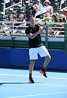 DELRAY BEACH, FL - NOVEMBER 05: Patrick McEnroe participates in the 28th Annual Chris Evert/Raymond James Pro-Celebrity Tennis Classic at Delray Beach Tennis Center on November 5, 2017 in Delray Beach, Florida<br /> CAP/MPI/HOO<br /> &copy;HOO/MPI/Capital Pictures