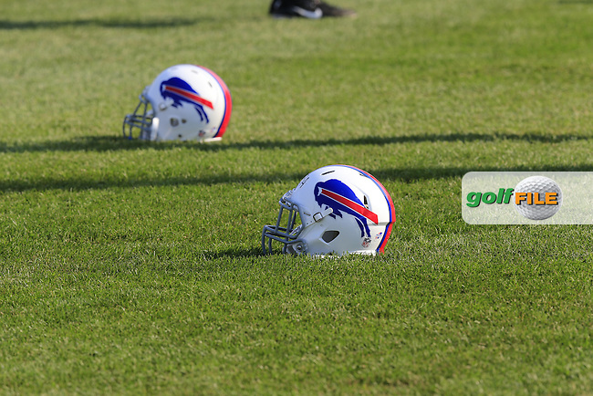 The Buffalo Bills NFL Team Training Camp at John Fisher College during Wednesday's Practice Day of the 95th US PGA Championship 2013 held at Oak Hills Country Club, Rochester, New York.<br /> 7th August 2013.<br /> Picture: Eoin Clarke www.golffile.ie