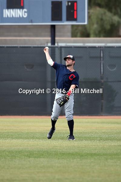 James Ramsey - Cleveland Indians 2016 spring training (Bill Mitchell)