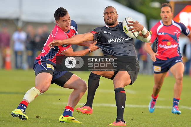 Semi Final, Tasman Makos v Canterbury, ITM Cup, 18th October 2014, Trafalger Park, Nelson, Photo: Barry Whitnall / shuttersport.co.nz