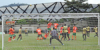 ITAGÜÍ -COLOMBIA-11-05-2013. Aspecto del encuentro entre Itagüí Ditaires y Envigado FC en la fecha 15 Liga Postobón 2013-1 realizado en el estadio Metropolitano Ciudad de Itagüí./ Aspect of match between Itagüí Ditaires and Envigado FC during 15th date of Postobon  League 2013-1 at Metropolitan Ciudad de Itagüi stadium.  Photo:VizzorImage/STR