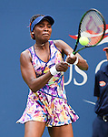 Venus Williams (USA) split the first two sets against Kateryna Kozlova (UKR) 6-2, 5-7