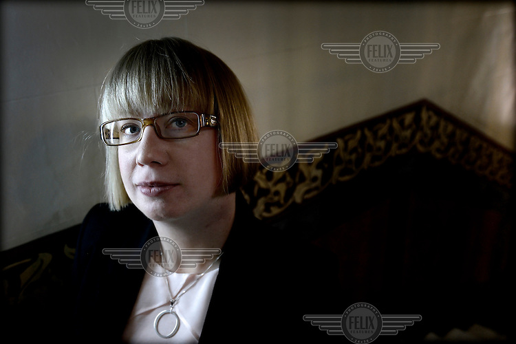 Swedish author and political scientist Kristina Ohlsson. /Felix Features