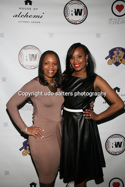 Dionne Ledford and Honoree Dana Whitfield at DJ Jon Quick's 5th Annual Beauty and the Beat: Heroines of Excellence Awards Honoring AMBRE ANDERSON, DR. MEENA SINGH,<br />