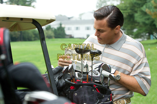 Leonardo DiCaprio<br /> in The Wolf of Wall Street (2013)<br /> *Filmstill - Editorial Use Only*<br /> CAP/FB<br /> Image supplied by Capital Pictures