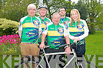 The Ring of Kerry cycle organisers have unveiled the very first Ring of Kerry Cycling Jersey which are on sale in local shops around Kerry. .Front L-R Tim O'Brien, Dan McCarthy and Karena McCarthy. .Back L-R Cathal Walshe and Oliver Kirwan.