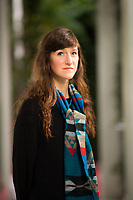 Sara Baume (born 1984)[1] is an Irish[2] novelist.<br /> <br /> Her father is of English descent while her mother is of Irish descent.[3] As her parents travelled around in a caravan, Sara Baume was born &quot;on the road to Wigan Pier&quot;.[3] When she was 4, they moved to County Cork, Ireland. Milan 18 novembre 2018. &copy; Leonardo Cendamo