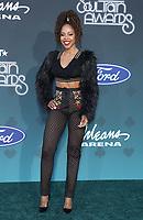 17 November 2019 - Las Vegas, NV - KJ Smith. 2019 Soul Train Awards Red Carpet Arrivals at Orleans Arena. Photo Credit: MJT/AdMedia