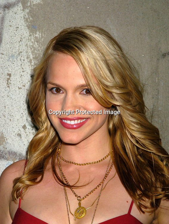 Alexa Havins ..at the Hotel Gansavoort for a party to launch All My Children Enchantment Perfume on September 22, 2004...Photo by Robin Platzer, Twin Images
