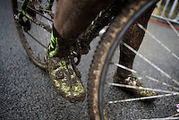 post-race mud shoes<br /> <br /> Druivencross Overijse 2014