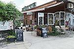 BERLIN, 10.6.2016. Restaurant Kanaan in Prenzlauer Berg, Kopenhagener Straße. (Photo by Gregor Zielke)