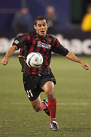 Craig Ziadie of the MetroStars during a game against the Crew. The Columbus Crew defeated the NY/NJ MetroStars 1-0 on 4/12/03 at Giant's Stadium, NJ.