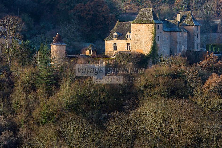 France, Lot (46), vallée de la Dordogne, Saint-Médard-de-Presque: Château de Saint-Médard-de-Presque // France, Lot, Dordogne valley, Saint Medard de Presque: Château de Saint Medard de Presque