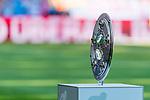 12.05.2018, Allianz Arena, Muenchen, GER, 1.FBL,  FC Bayern Muenchen vs. VfB Stuttgart, im Bild feature DFB Meisterschale<br /> <br />  Foto &copy; nordphoto / Straubmeier