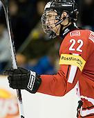 Nino Niederreiter (Switzerland - 22) - Team Switzerland defeated Team Latvia 7-5 on Wednesday, December 30, 2009, at the Credit Union Centre in Saskatoon, Saskatchewan, during the 2010 World Juniors tournament.