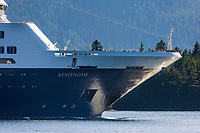 "Celebrity Cruise liner ""Infinity"" in the Tongass Narrows, Ketchikan, Alaska."