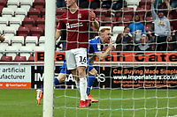O's  James Brophy scores past keeper David Cornell & celebrates during Northampton Town vs Leyton Orient, Sky Bet EFL League 2 Football at Sixfields Stadium on 5th October 2019