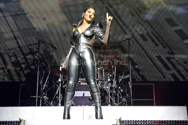 Janet Jackson performing her first show of her Up Close And Personal Tour at the Borgata in Atlantic City, NJ on March 26, 2011  © Star Shooter / MediaPunchInc
