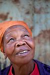 For HELP AGE (UK)<br /> <br /> 2010 - Nairobi, Kenya - Rhoda Ngima, 76 years old, lives in Gatina. Photo Credit: Benedicte Desrus