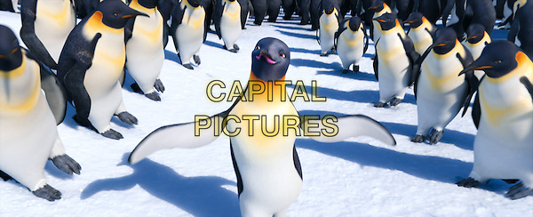 (L-r) Gloria, voiced by ALECIA MOORE (P!NK).in Happy Feet Two .*Filmstill - Editorial Use Only*.CAP/FB.Supplied by Capital Pictures.