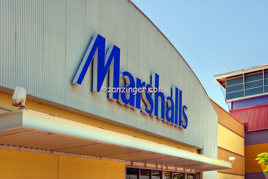 Marshalls, Clothing, Store, Burbank, CA, Empire Plaza, Burbank, Shopping Mall ,Stock Photos, Pictures, Images, Photographs