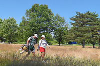 Inbee Park (KOR) makes her way to the tee on 14 during round 2 of the 2018 KPMG Women's PGA Championship, Kemper Lakes Golf Club, at Kildeer, Illinois, USA. 6/29/2018.<br /> Picture: Golffile | Ken Murray<br /> <br /> All photo usage must carry mandatory copyright credit (© Golffile | Ken Murray)