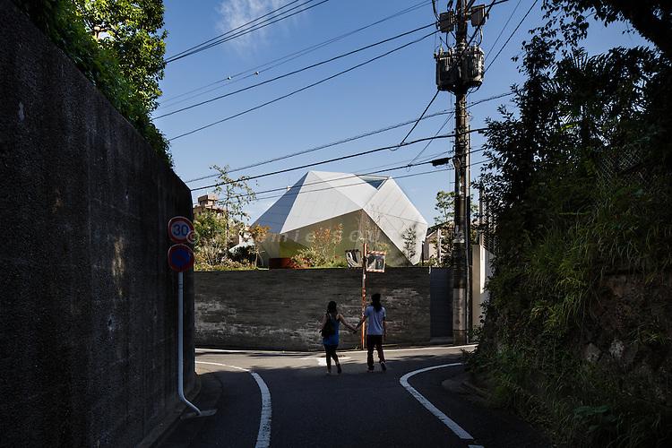 Tokyo, September 17 2013 - Hironaka house by Ken Yokogawa