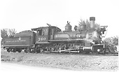 Engineer's-side view of D&amp;RGW #360 in Montrose yard.<br /> D&amp;RGW  Montrose, CO