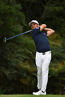 Xander Schauffele (USA) during the second round of The Tour Championship, East Lake Golf Club, Atlanta, Georgia, USA. 23/08/2019.<br /> Picture Ken Murray / Golffile.ie<br /> <br /> All photo usage must carry mandatory copyright credit (© Golffile | Ken Murray)