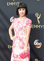 LOS ANGELES, CA - SEPTEMBER 18: Constance Zimmer arrives at the 68th Emmy Awards at the Microsoft Theater on  September 18, 2016, in Los Angeles, California. Credit: mpi99/MediaPunch