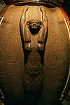 Sky goddess Nut on sarcophagus of Pharaoh Merneptah, Ramses II's son, Egyptian Museum, Cairo