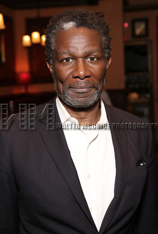 John Douglas Thompson attends the 2017 New York Drama Critics' Circle Awards Reception at Feinstein's / 54 Below on 5/18/2017 in New York City.