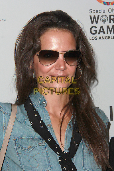 LOS ANGELES, CA - FEBRUARY 21: Katie Holmes at the Third Annual Gold Meets Golden Event at Equinox Sports Club in Los Angeles, California on February 21, 2015. <br /> CAP/MPI/DC/DE<br /> &copy;DE/DC/MPI/Capital Pictures