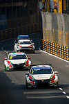 Gabriele Tarquini races the FIA WTCC during the 61st Macau Grand Prix on November 16, 2014 at Macau street circuit in Macau, China. Photo by Aitor Alcalde / Power Sport Images