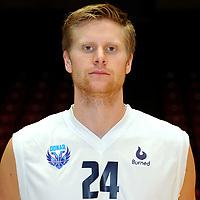 GRONINGEN - Basketbal, presentatie Donar, seizoen 20-17-2018, 30-10-2017,  Donar speler Evan Bruinsma